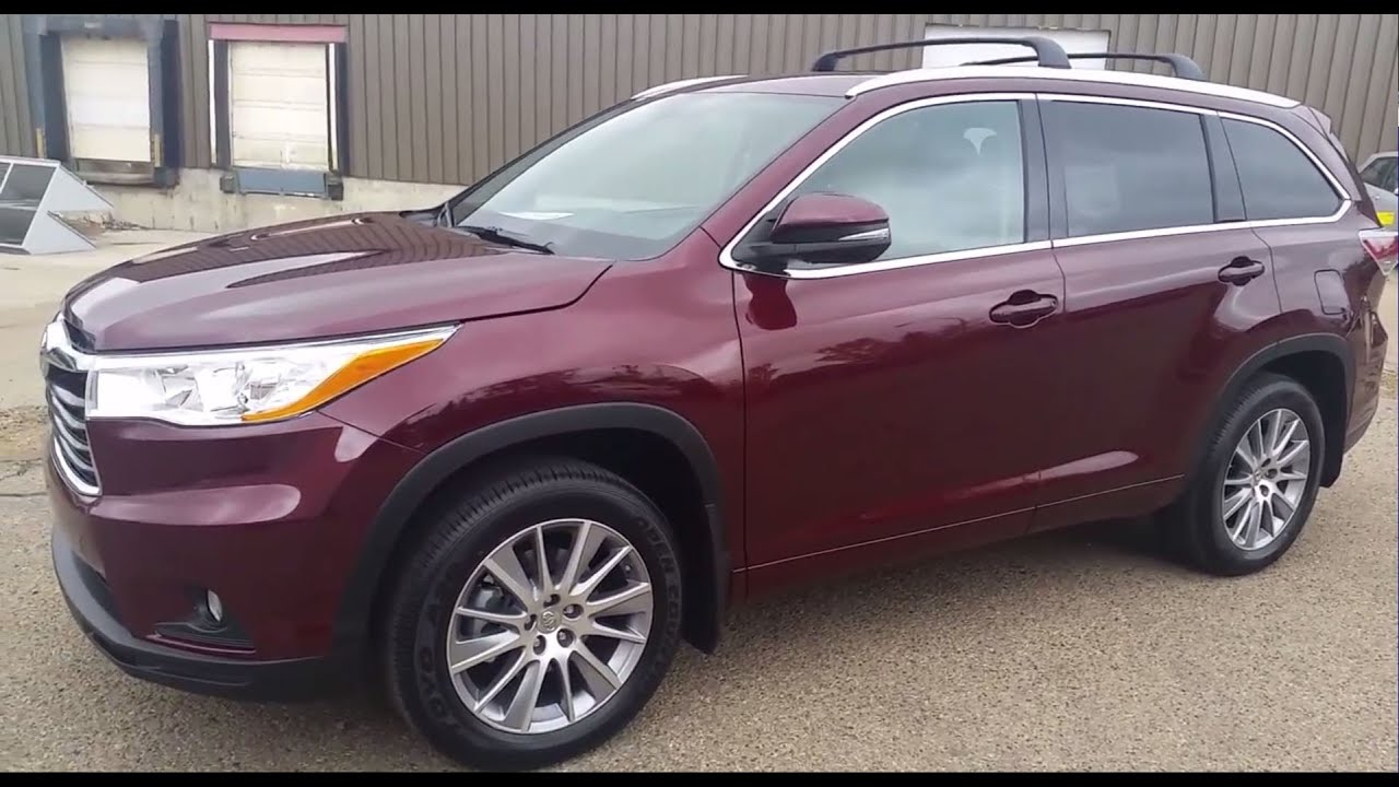 2016 toyota highlander xle review