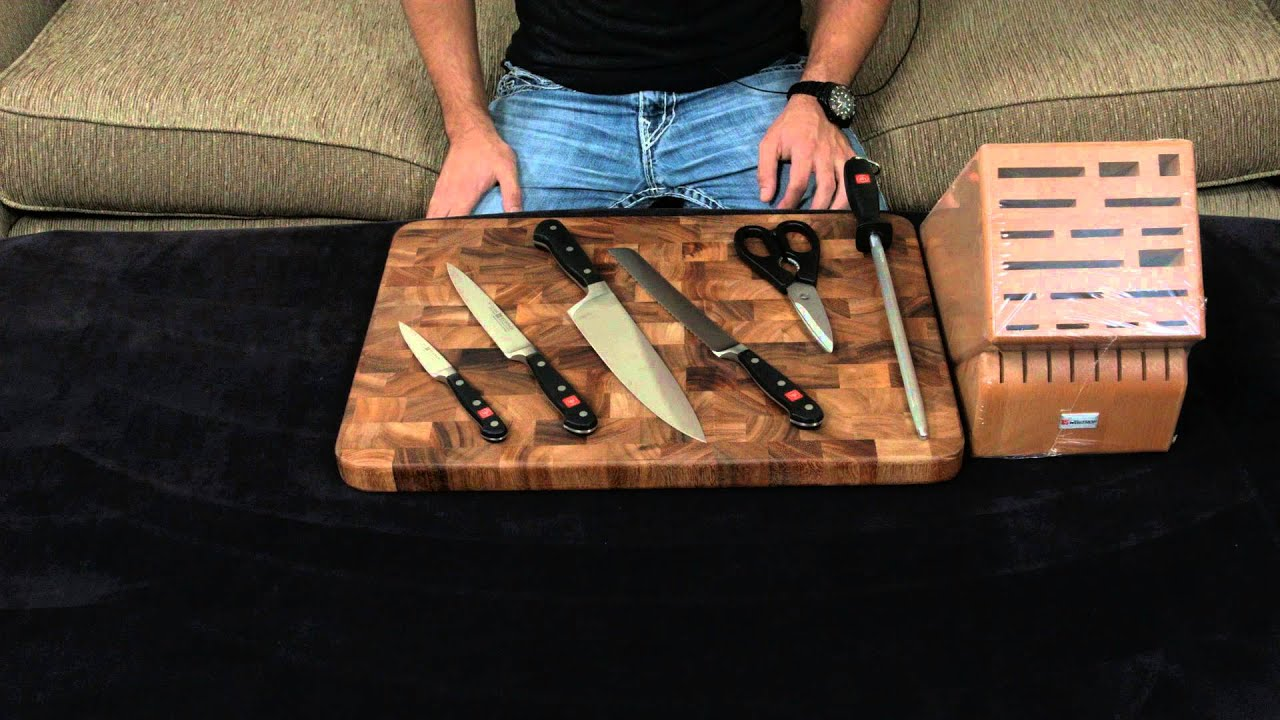 wusthof classic 7 piece knife block set review