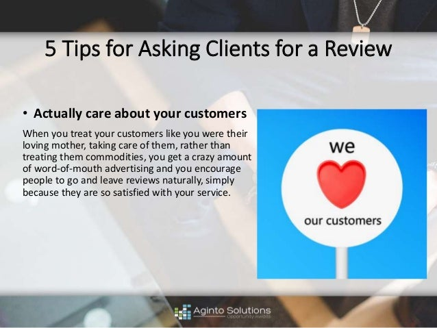 how to ask clients for a yelp review