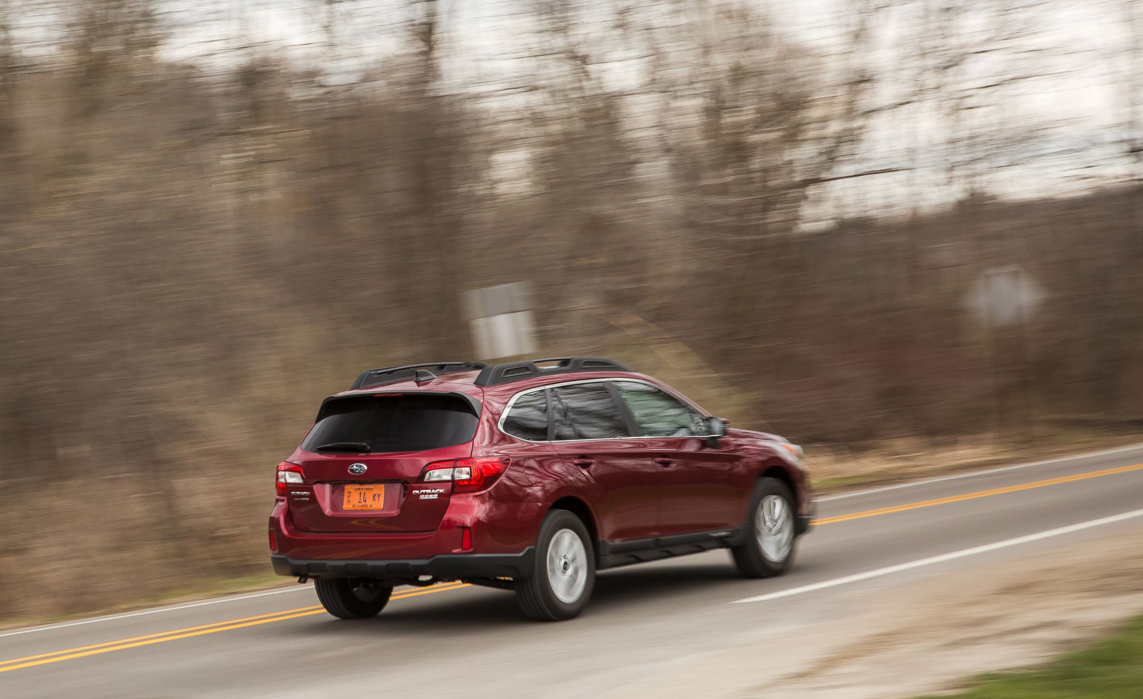 2014 subaru outback review car and driver