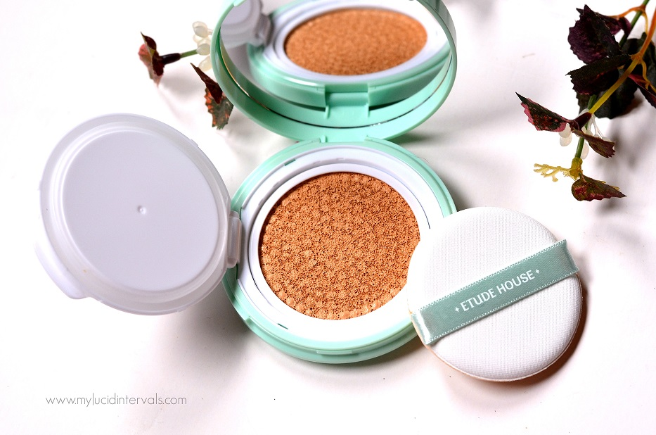etude house ac clean up cushion review