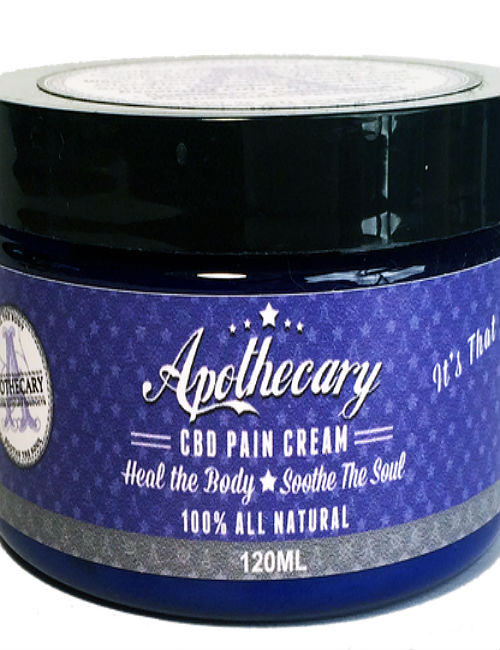 apothecary cbd topical pain cream review