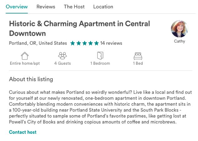 airbnb reviews for guests sample