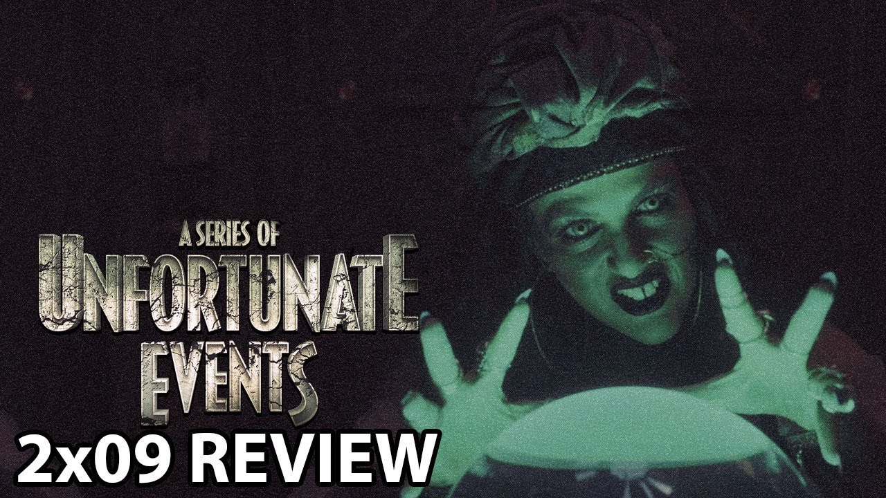 a series of unfortunate events season 2 review