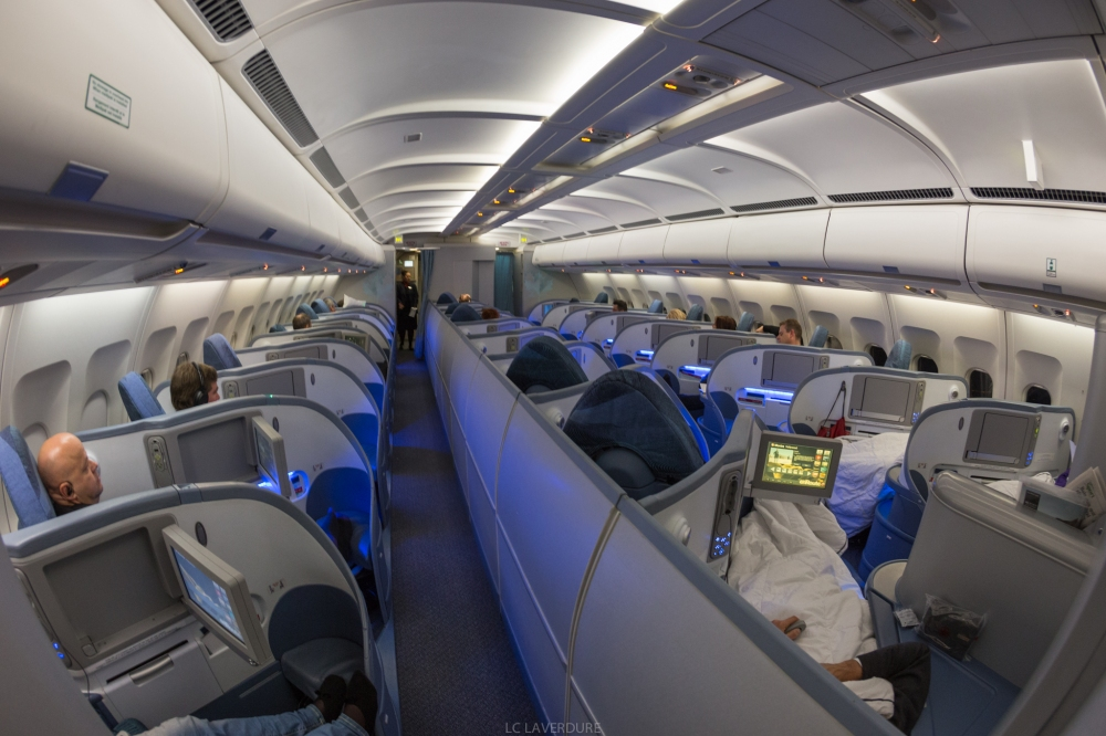 air canada a330 300 business class review