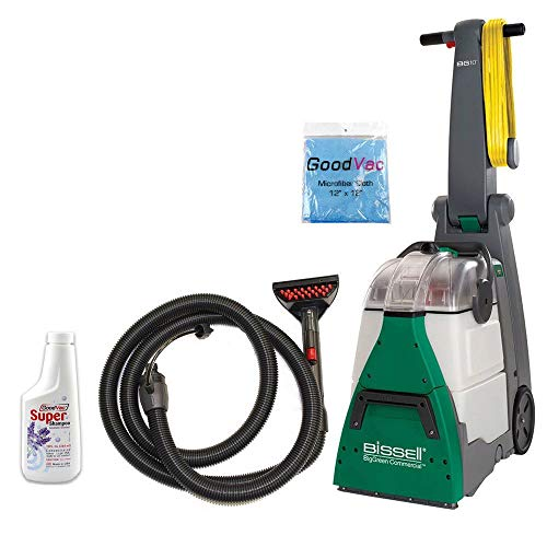 bissell big green deep cleaning machine reviews