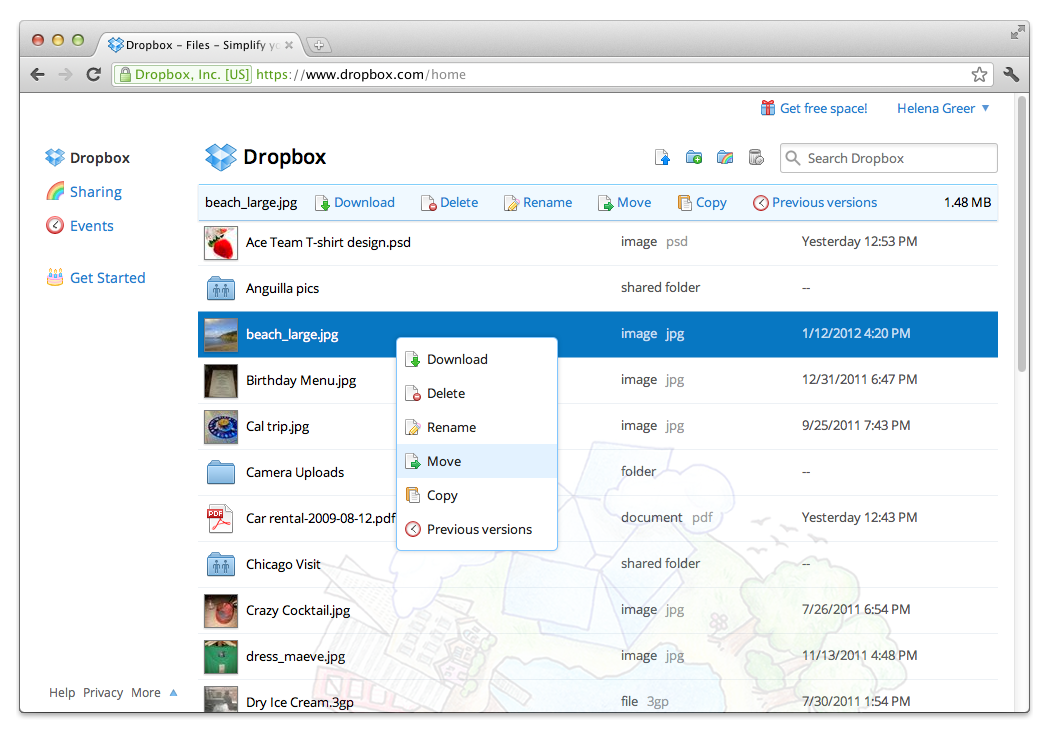 dropbox for business review 2016