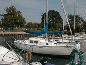 columbia challenger 24 sailboat review