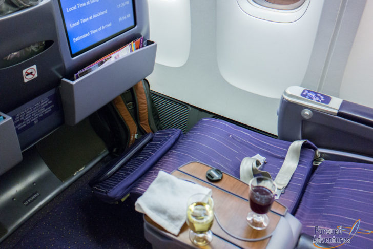thai airlines business class review