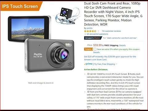 front and rear dash cam reviews uk