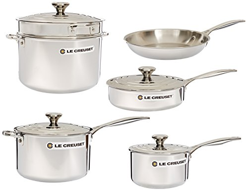 le creuset tri ply stainless steel review